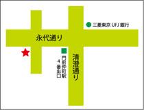 門前仲町店_マップ
